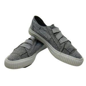 Women's Grey Blowfish Malibu Slip-on Sneakers Sz 6